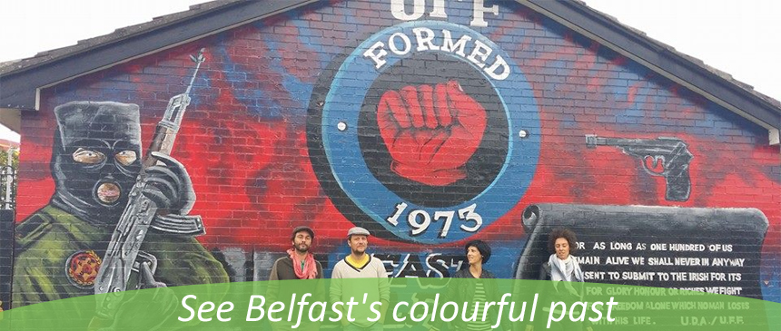 Belfast mural tours for Belfast mural tours