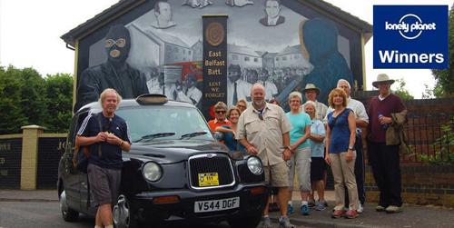 black taxi tours belfast city
